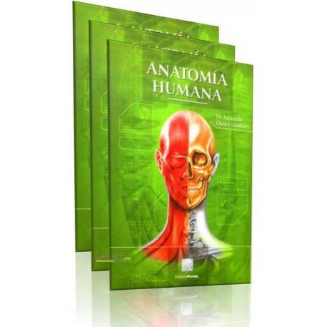 Anatomía Humana 3 Volumenes - Envío Gratuito