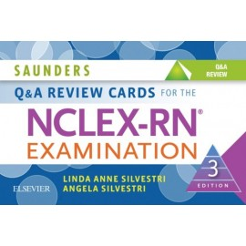 Saunders Q & A Review Cards for the NCLEX-RN® Examination - E-Book (ebook)