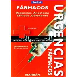 Fármacos en Urgencias, Anestesia, Críticos y Coronarios Pocket
