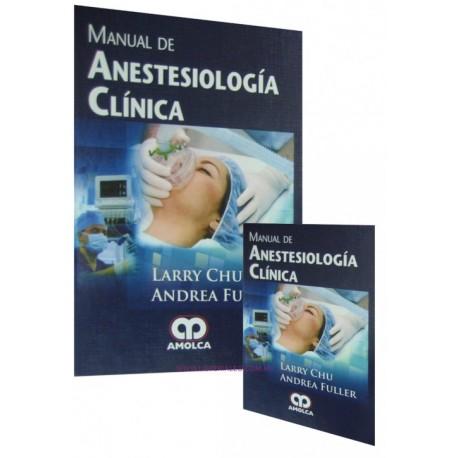 Manual de Anestesiología Clínica. 2 Volúmenes - Envío Gratuito