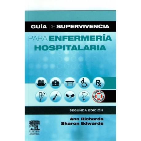 Guía de supervivencia para enfermería hospitalaria - Envío Gratuito