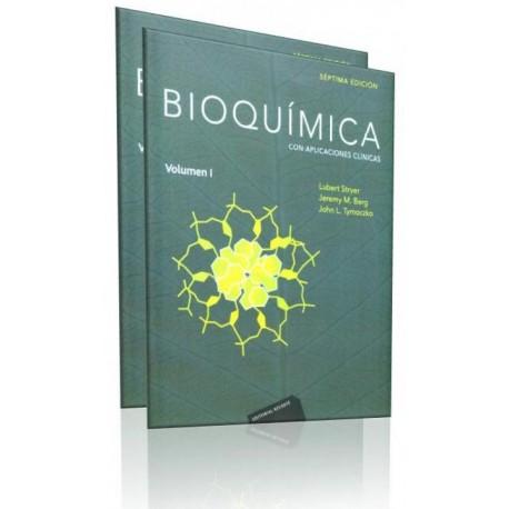 Bioquímica. Con aplicaciones clínicas 2 Volúmenes - Envío Gratuito