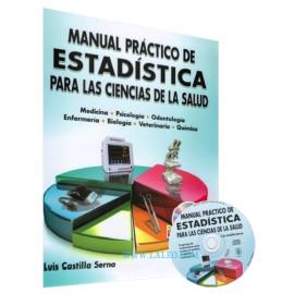 Manual practico de estadística para las ciencias de la salud - Envío Gratuito