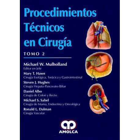Procedimientos Técnicos en Cirugía. 2 Tomos - Envío Gratuito