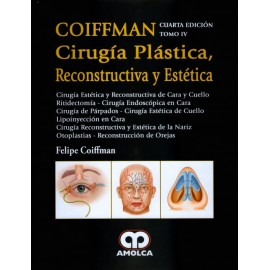 COIFFMAN IV: Cirugía Estética y Reconstructiva de Cara y Cuello - Envío Gratuito