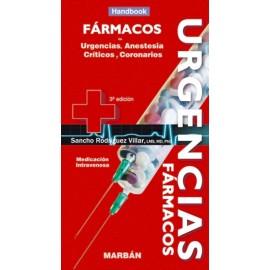Fármacos en Urgencias, Anestesia, Críticos y Coronarios Handbook - Envío Gratuito