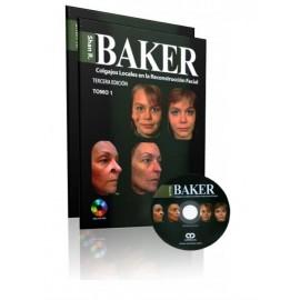 Baker. Colgajos Locales en la Reconstrucción Facial 2 Tomos Amolca - Envío Gratuito