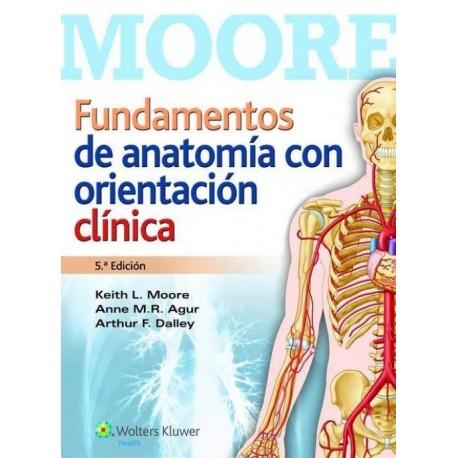 Fundamentos de Anatomía con Orientación Clínica - Envío Gratuito
