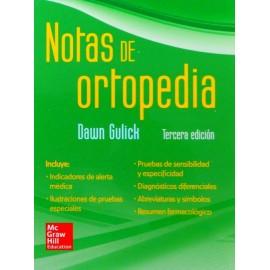 Notas de ortopedia - Envío Gratuito
