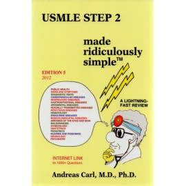 USMLE Step 2 Made Ridiculously Simple - Envío Gratuito