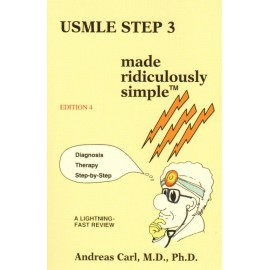 USMLE step 3 made ridiculously simple - Envío Gratuito