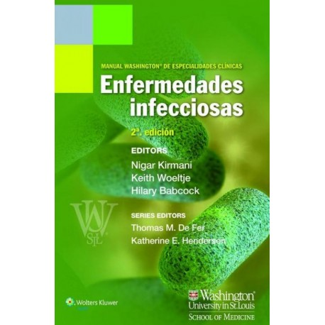 Manual Washington de especialidades clínicas. Enfermedades infecciosas - Envío Gratuito