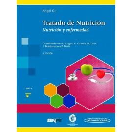 Tratado de Nutrición 5. Nutrición y Enfermedad - Envío Gratuito