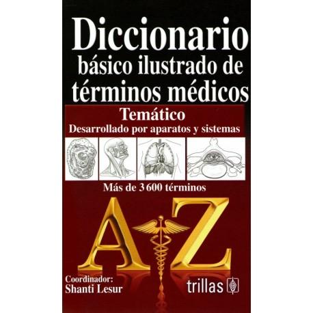 Diccionario básico ilustrado de términos médicos - Envío Gratuito