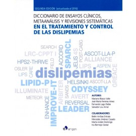 Diccionario de ensayos clínicos, metaanálisis y revisiones sistemáticas en el tratamiento y control de las dislipemias