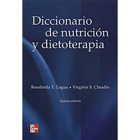 Diccionario de nutrición y dietoterapia - Envío Gratuito