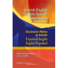 Spanish-English English-Spanish Pocket Medical Dictionary Diccionario Médico de bolsillo