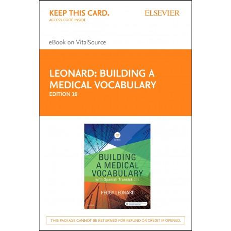 Building a Medical Vocabulary - E-Book (ebook) - Envío Gratuito