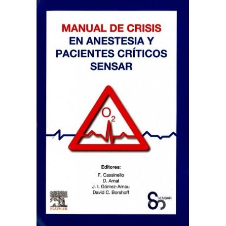Manual de crisis en anestesia y pacientes críticos SENSAR - Envío Gratuito
