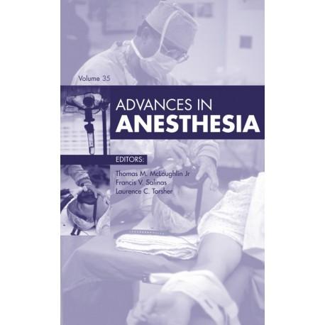 Advances in Anesthesia, E-Book (ebook) - Envío Gratuito