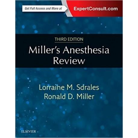 Miller. Anesthesia Review - Envío Gratuito