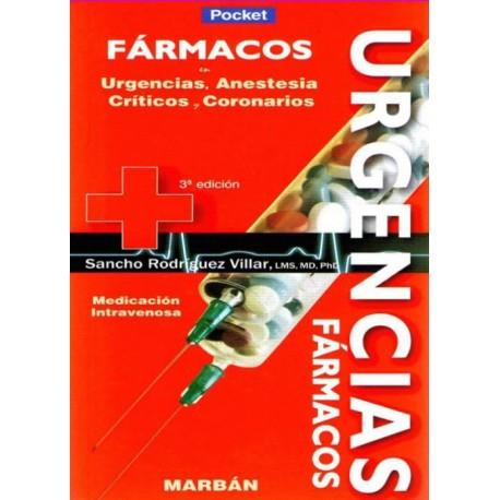 Fármacos en Urgencias, Anestesia, Críticos y Coronarios Pocket - Envío Gratuito