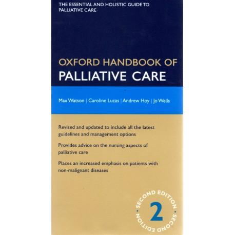Oxford handbook of palliative car - Envío Gratuito