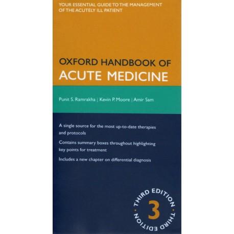 Oxford handbook of acute medicine - Envío Gratuito