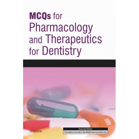 MCQs for Pharmacology and Therapeutics for Dentistry E-Book (ebook) - Envío Gratuito
