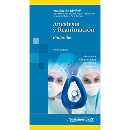 Anestesia y reanimación. Protocolos - Envío Gratuito