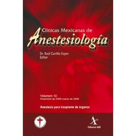 CMA: Anestesia para Transplante de Organos - Envío Gratuito