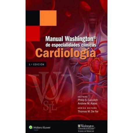 Manual Washington de especialidades clínicas. Cardiología - Envío Gratuito