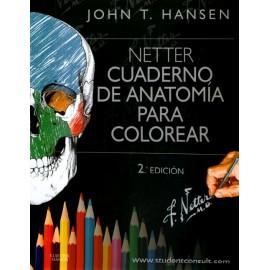 Netter. Cuaderno de anatomía para colorear