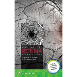 Manual de retina. Médica y quirúrgica - Envío Gratuito
