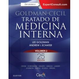 Goldman-Cecil. Tratado de medicina interna 2 Volumenes - Envío Gratuito