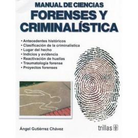 Manual de ciencias forenses y criminalística - Envío Gratuito