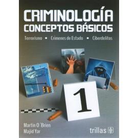 Criminología conceptos básicos - Envío Gratuito