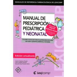 Manual de prescripción pediátrica y neonatal - Envío Gratuito