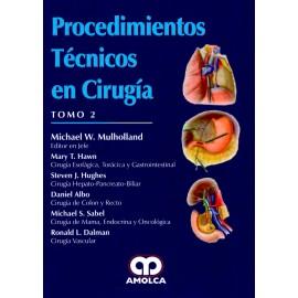 Procedimientos Técnicos en Cirugía. 2 Tomos