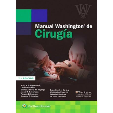 Manual Washington de cirugía - Envío Gratuito