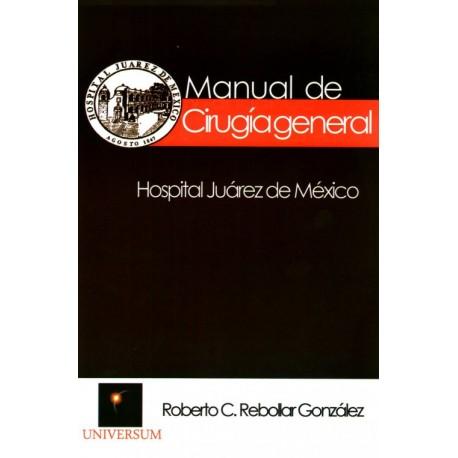 Manual de cirugía general - Envío Gratuito