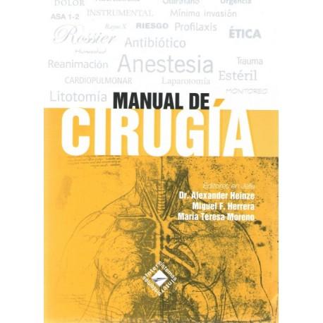 Manual de Cirugía - Envío Gratuito