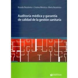 Auditoría médica y garantía de calidad de la gestión sanitaria - Envío Gratuito