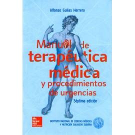 Manual de terapéutica médica y procedimientos de urgencias - Envío Gratuito