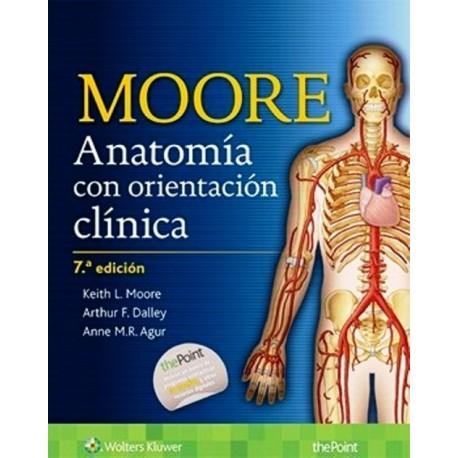 Moore. Anatomía con Orientación Clínica - Envío Gratuito