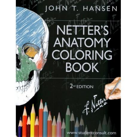 Netter. Anatomy Coloring Book - Envío Gratuito