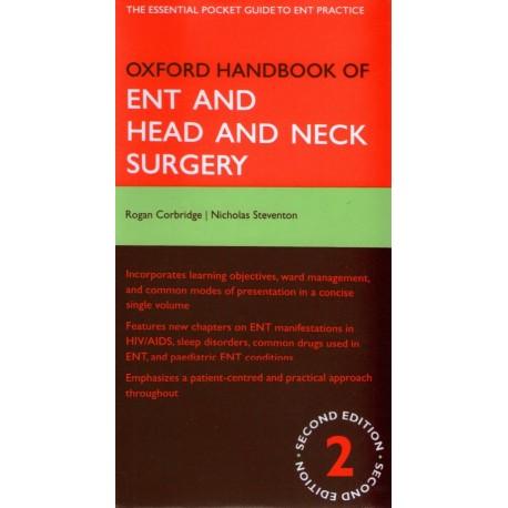 Oxford Handbook of ENT and Head and Neck Surgery - Envío Gratuito