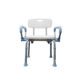 Silla ducha plegable con descansabrazos abatibles SPD9041 - Envío Gratuito