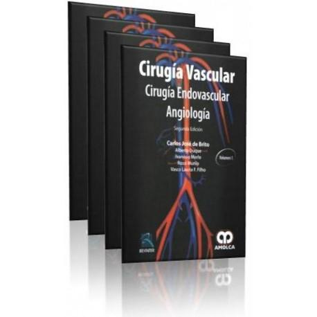 Cirugía vascular, Cirugía endovascular, Angiología 4 Volúmenes - Envío Gratuito