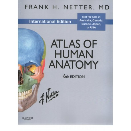 Atlas of Human Anatomy - Envío Gratuito